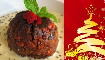 Plantbased Christmas pudding recipe from La Crisalida Retreats