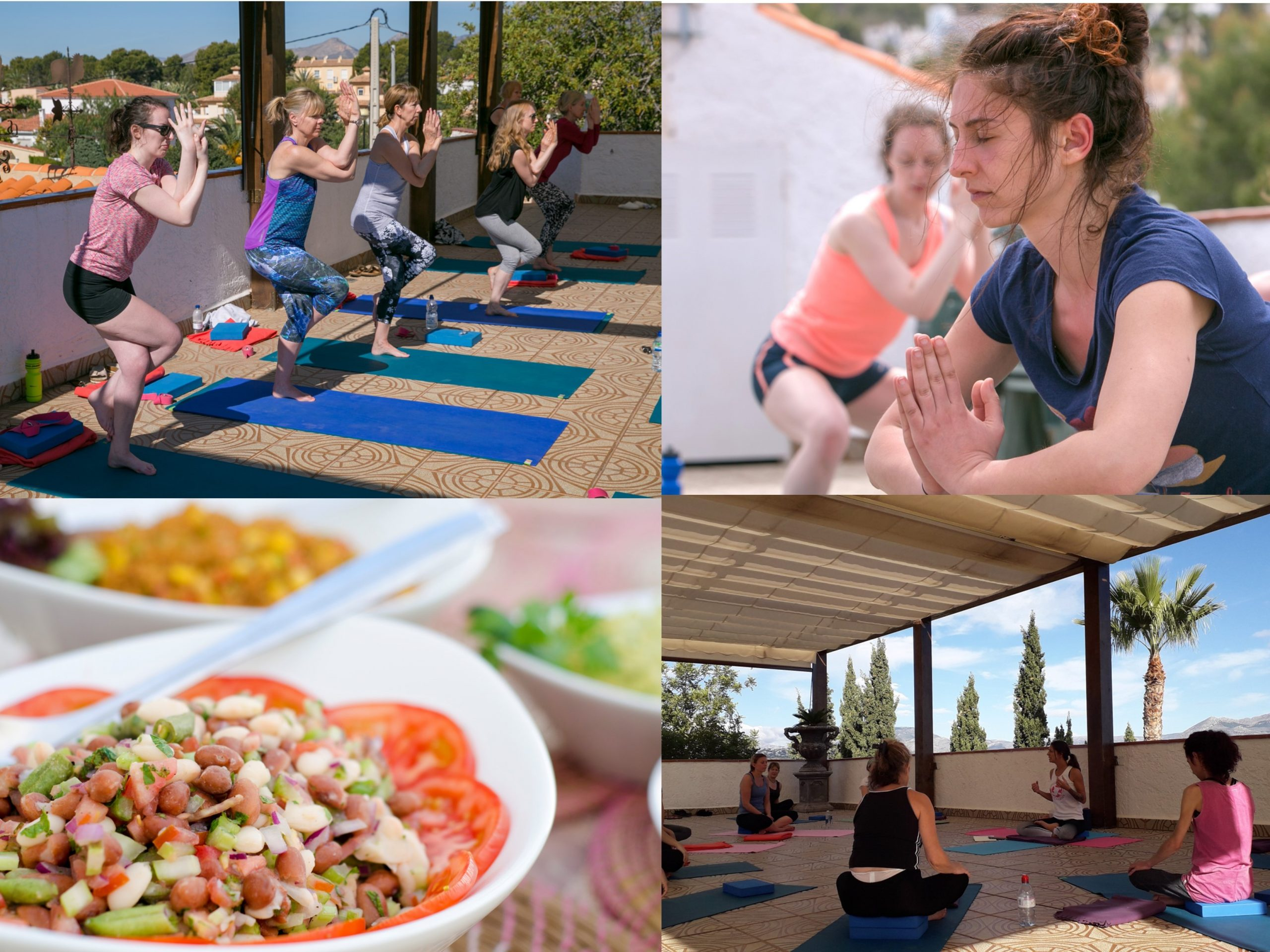 yoga and mindfulness weekend online La Crisalida Retreats yoga retreat