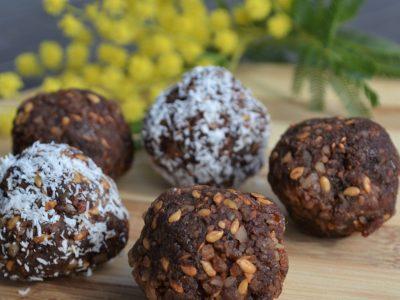 chocolate bliss balls plantbased free recipe La Crisalida Retreats