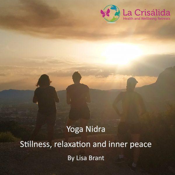 Yoga nidra for stillness, relaxation and inner peace audio recording