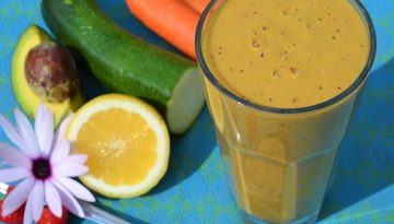 omega boost carrot smoothie recipe detox retreat Spain