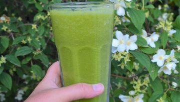Super green smoothie recipe Juice detox retreat Spain