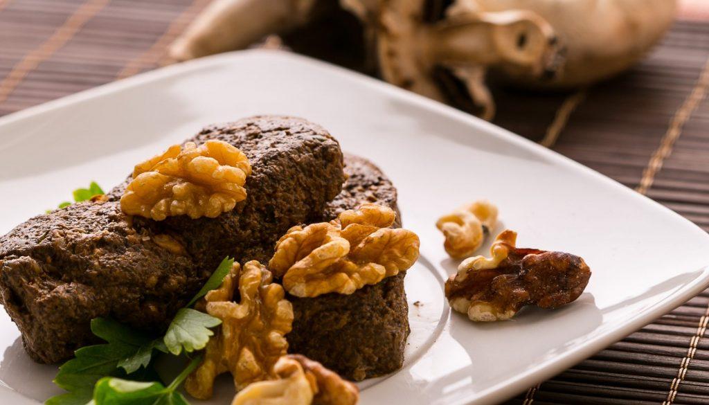 plantbased mushroom pate free recipe from la crisalida vegan retreat